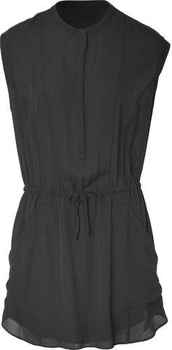 A.L.C. Silk Maizey Dress in Black