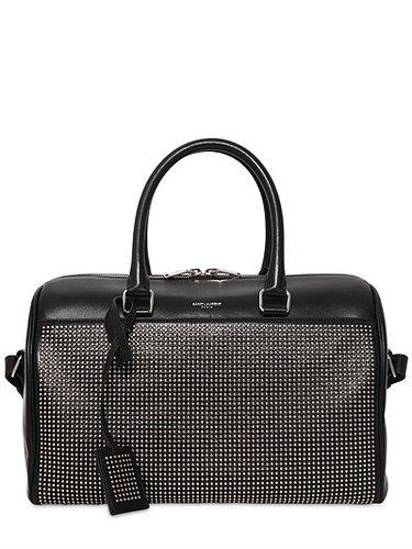 Duffle 6 Micro Studs Leather Bag
