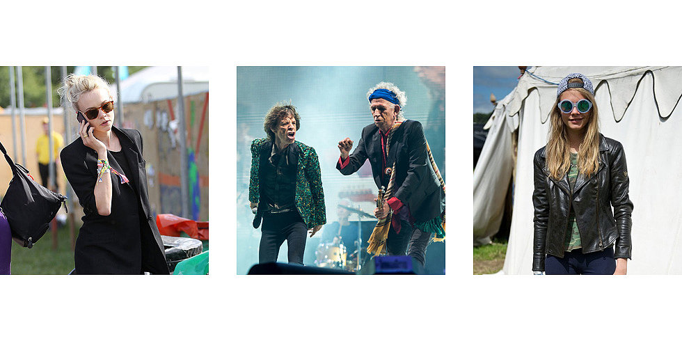 Carey Rocks Out at Glastonbury Alongside Kate and Sienna