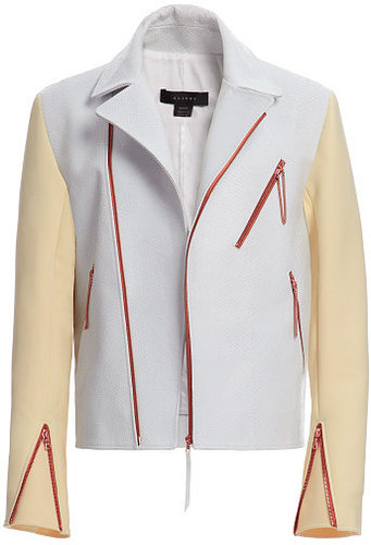 Preorder Ellery Dirty White And Custard Squires Jacket