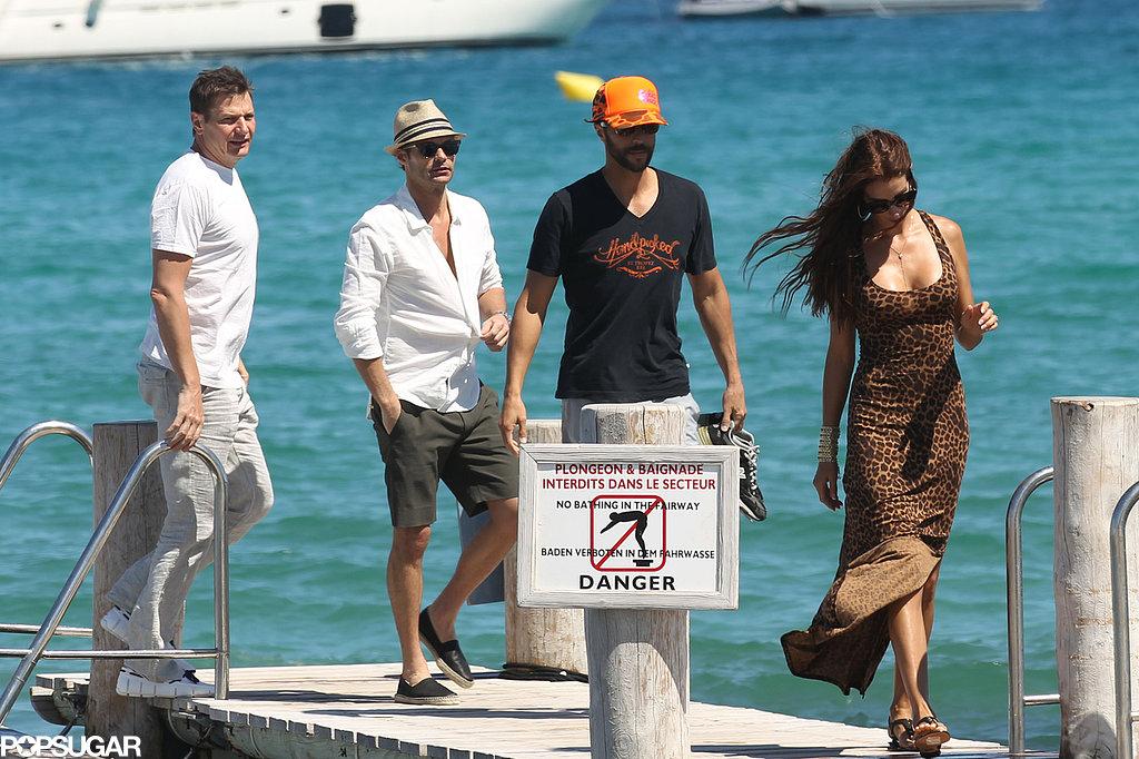 Ryan Seacrest Sails Into Saint-Tropez With a New Lady