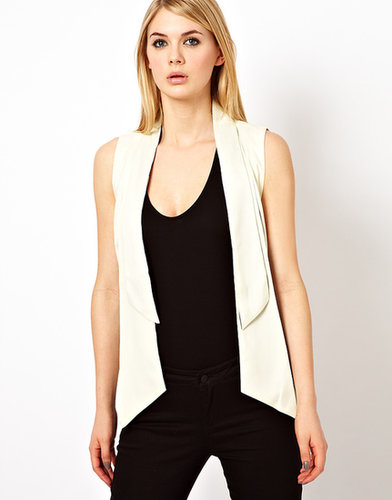 Factory by Erik Hart Crepe And Chiffon Waistcoat