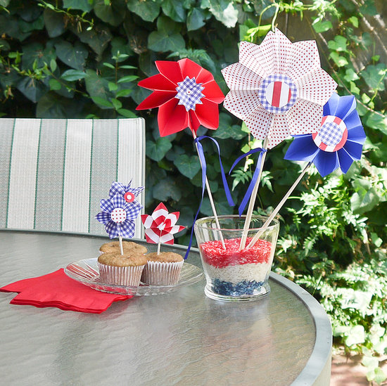 DIY Pinwheel Party Decorations