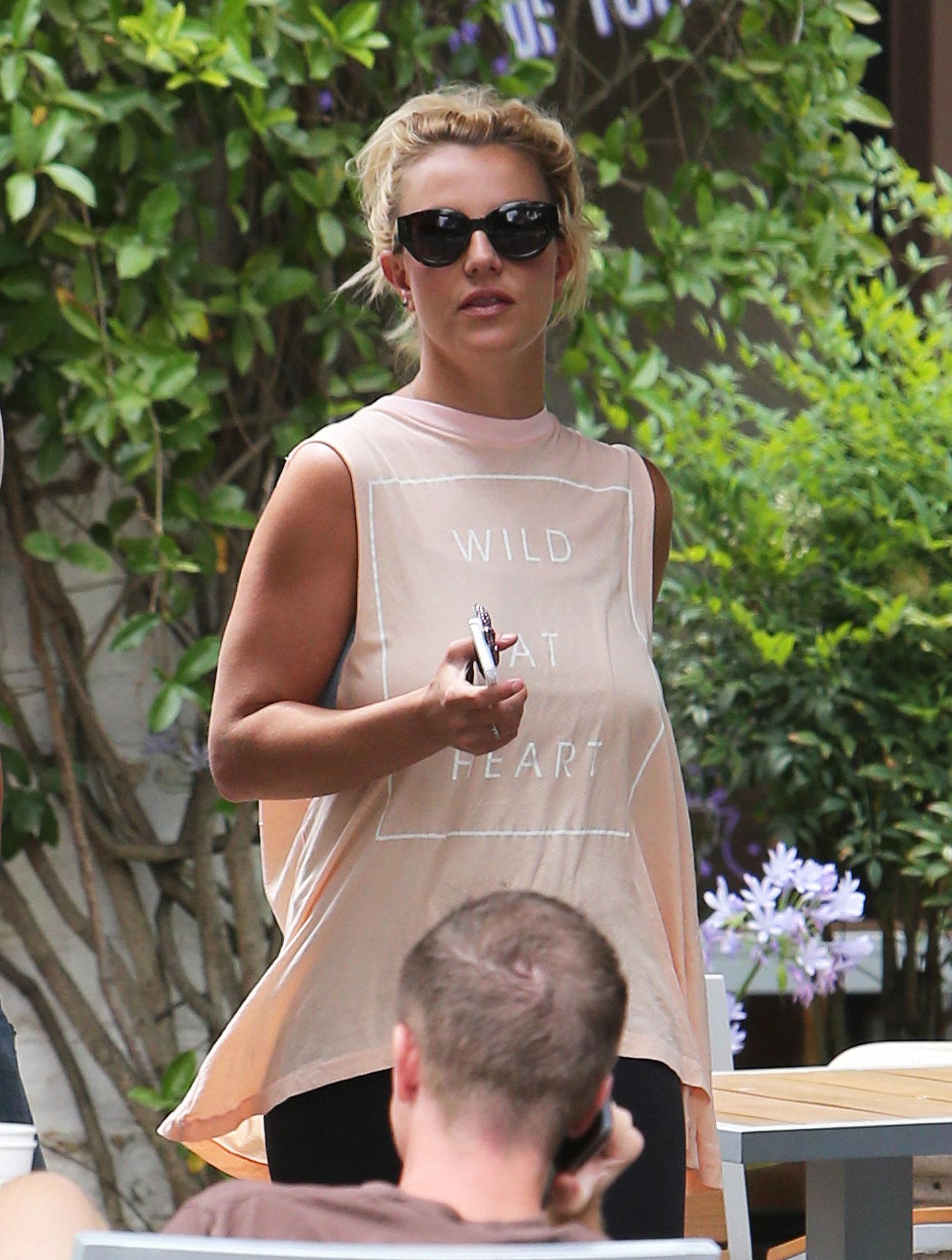 Britney Spears Flaunts Her Wild Heart