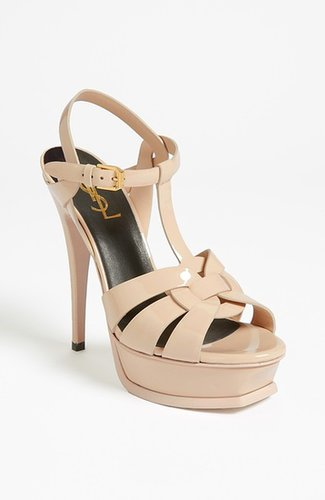 Saint Laurent 'Tribute' T-Strap Sandal