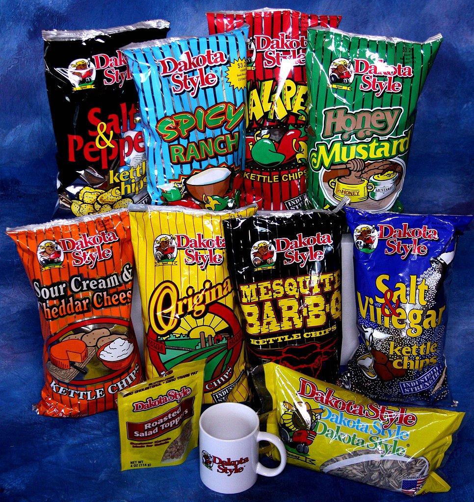 South Dakota: Dakota Style Potato Chips