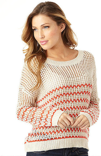 Cozy Casual Zigzag Stripe Sweater