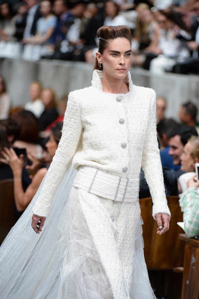 Chanel Gives a Masculine Girl a Whirl at Paris Couture Week