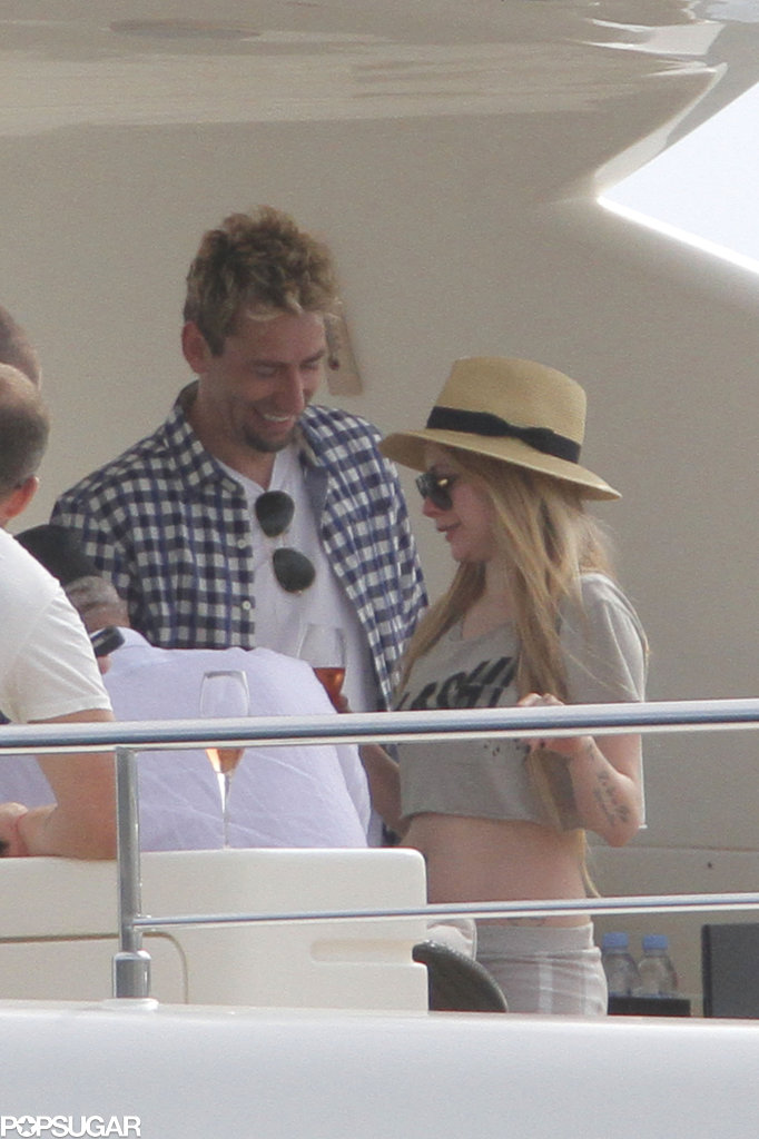 Avril Lavigne and Chad Kroeger celebrated their wedding weekend.