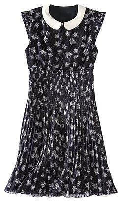 Kate Young For Target® Peter Pan Collar Dress -Star Print