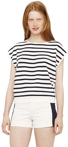 Sophie Striped Shell