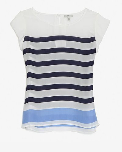 Joie Striped Blouse
