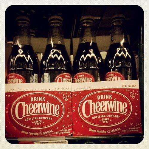 North Carolina: Cheerwine Soda