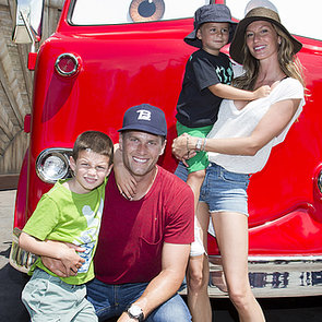 Gisele Bundchen and Tom Brady Take Kids to Disneyland
