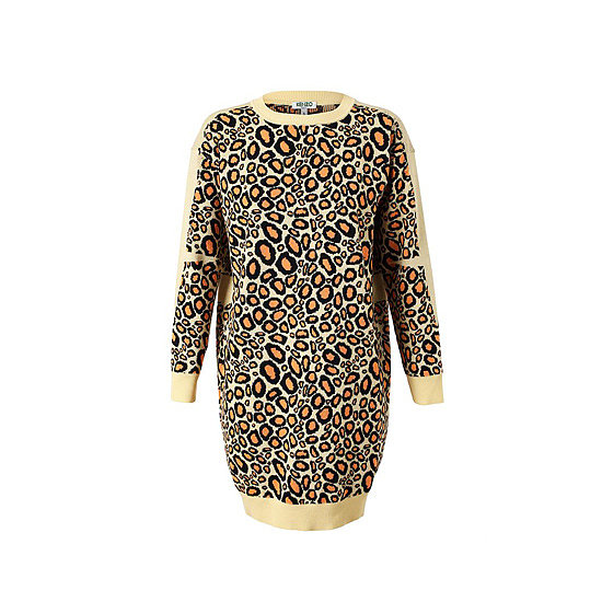 Rawr! I love Kenzo at the moment, and this knitted dress is all kinds of fun. I'm not usually one for a pattern, but I'll take walking leopard any day. I'll pair this with some over-the-knee boots and a top knot. — Alison, health and beauty editor Dress, approx. $280.35, Kenzo at Browns