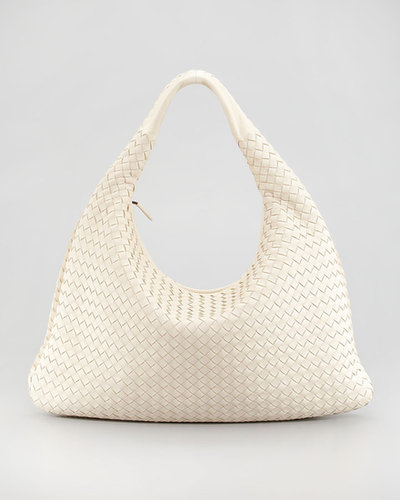 Bottega Veneta Veneta Woven Hobo Bag, Large
