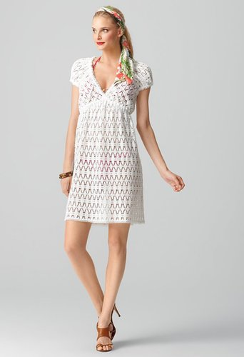 Milly White Dresses - Lucca Dress - Cotton