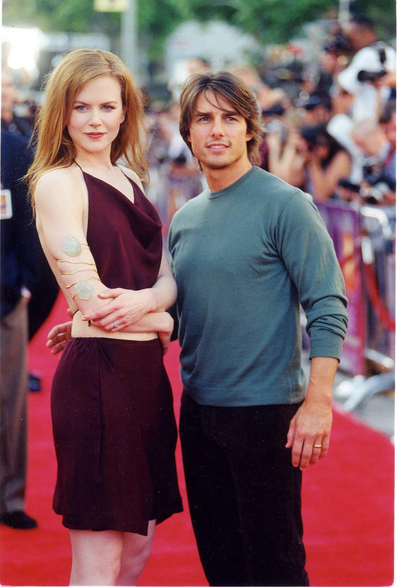 Tom Cruise stepped onto the red carpe