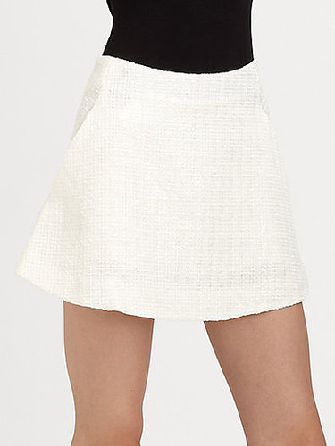Theyskens' Theory Sonet Tweed Mini Skirt