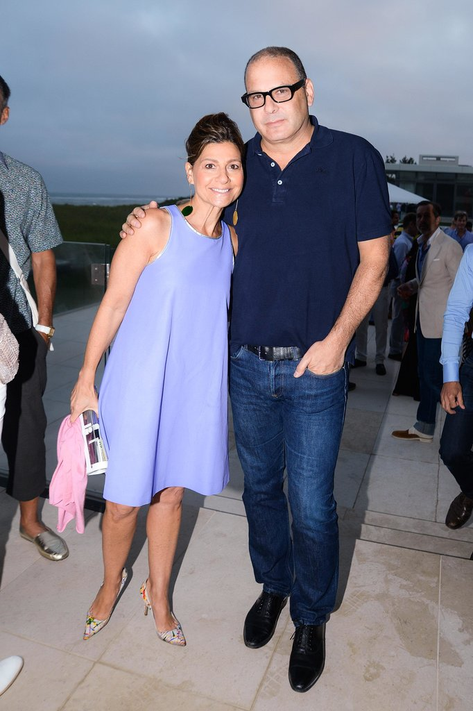 Lisa Perry and Reed Krakoff looked Hamptons chic while feting Elle Decor's Summer issue in Southampton.