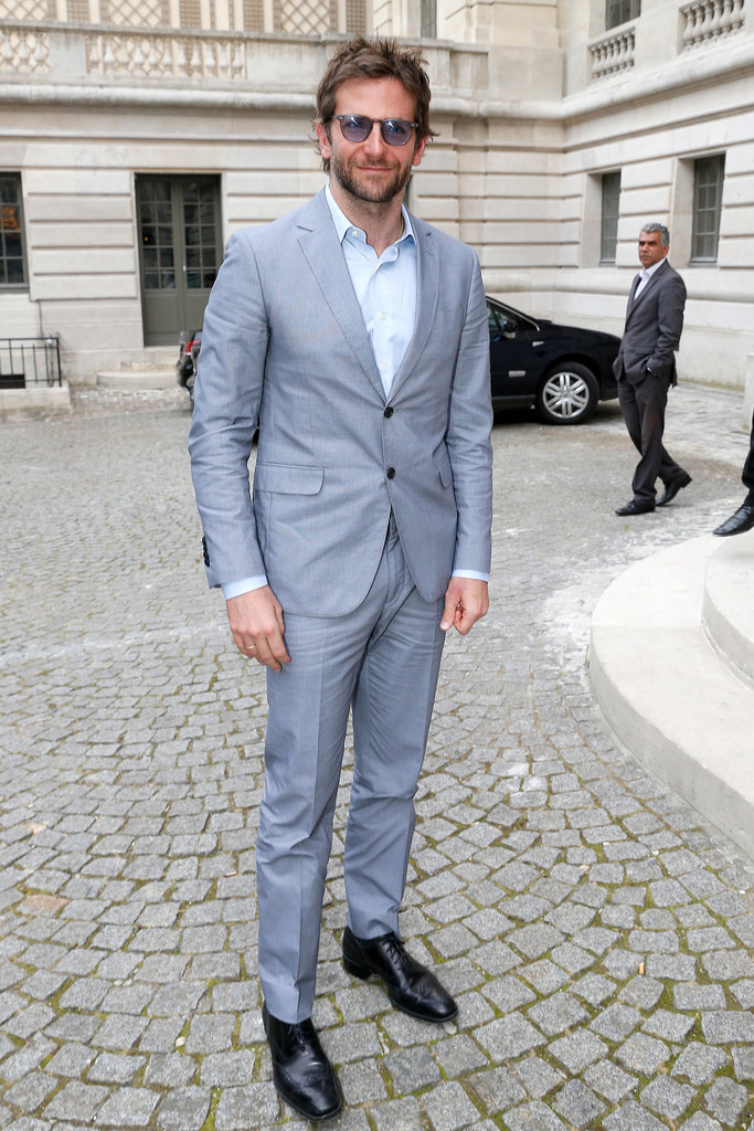 Bradley Cooper popped up in Paris to attend Bulgari's Diva Event for Paris Haute Couture on Tuesday.