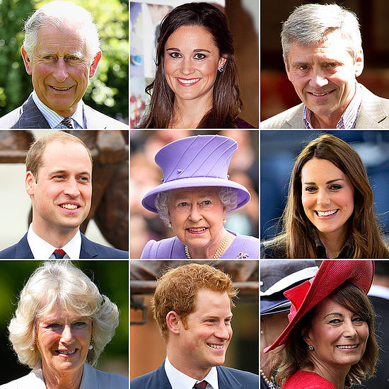 Sure, everyone knows the royal baby's great-grandmother — Queen Elizabeth II — but what about the future heir's adorable little cousins? The baby's royal aunts and uncles? The Middleton family tree? Ahead of the royal baby's birth, we've put together a who's who for the royal baby's family.