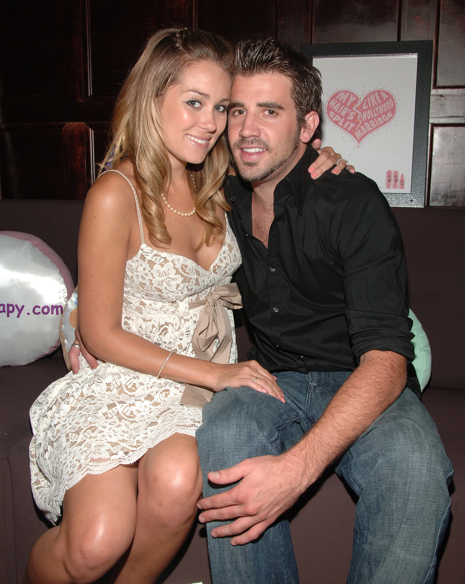 Lauren Conrad cozied up to Jason Wahler in NYC in July 2006.