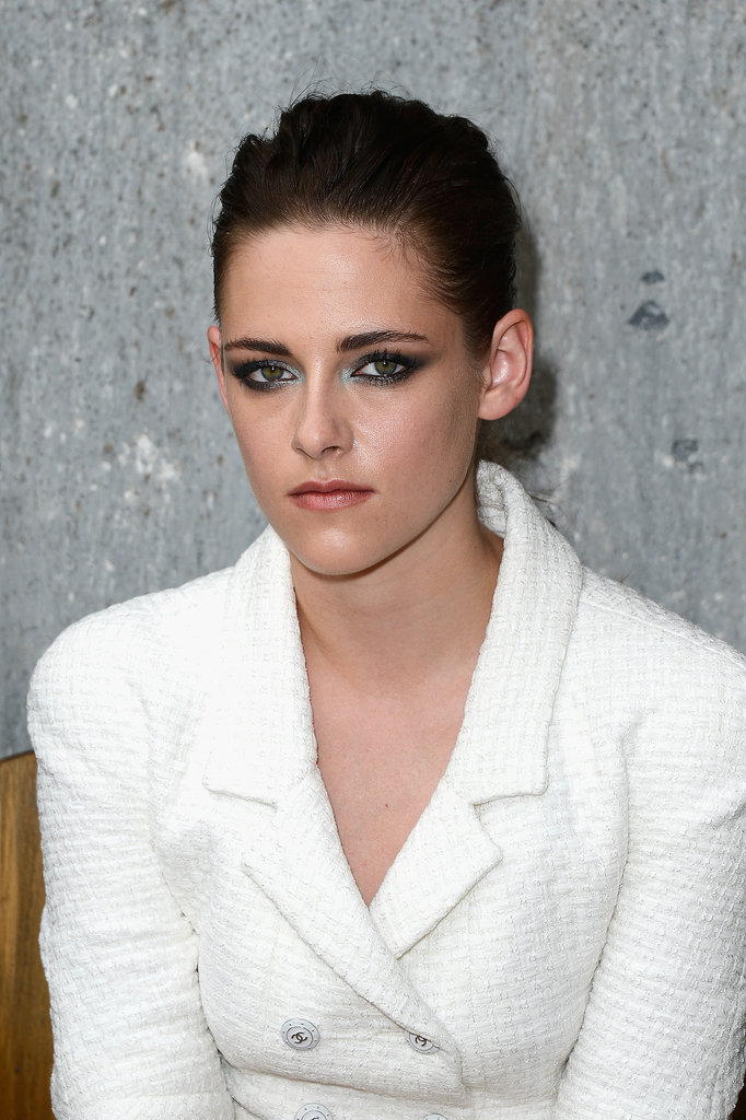 See Kristen Stewart's New Tattoos & Frosted Eye Makeup at Chanel