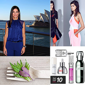 POPSUGAR Celebrity, Fashion, Beauty & Health: Sandra Bullock