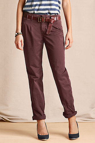 Women's Pleated Slim Slouch Chinos