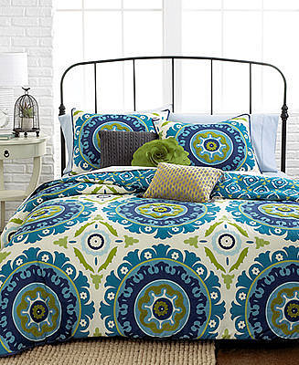 Suzani 3 Piece Full/Queen Comforter Set