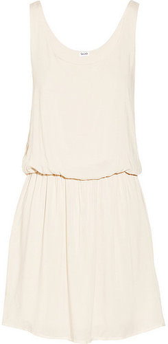 Splendid Washed-voile tank dress