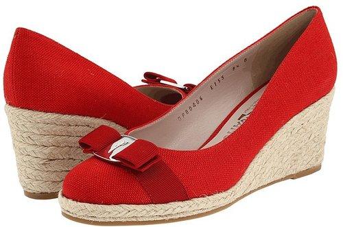 Salvatore Ferragamo - Darly (Rosso) - Footwear