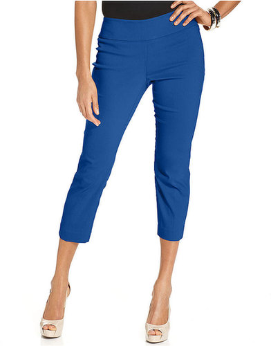 Alfani Pants, Skinny Pull-On Capri