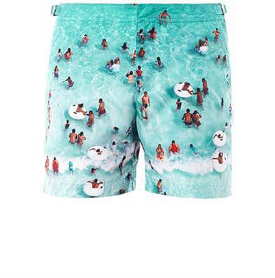 Orlebar Brown Marlin Caribbean-print swim shorts