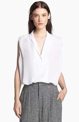 Theyskens' Theory 'Bamy Faloon' Silk Blouse
