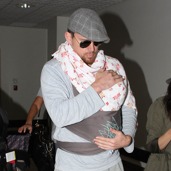 Baby-Wearing Celebrity Dads