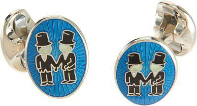 Barneys New York Groom & Groom Cufflinks