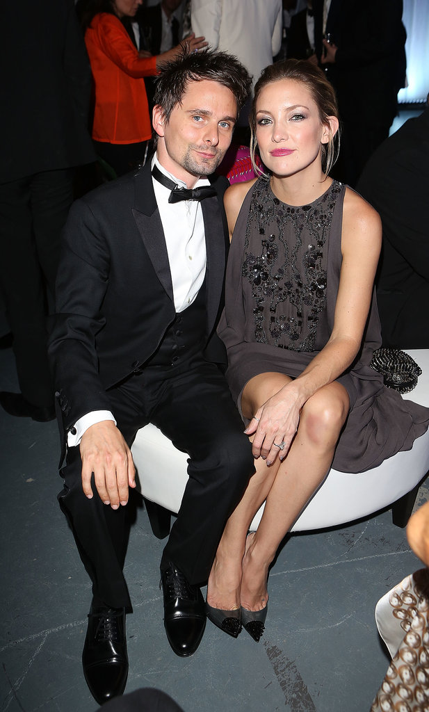 Kate Hudson attended the dinner with Matthew Bellamy.