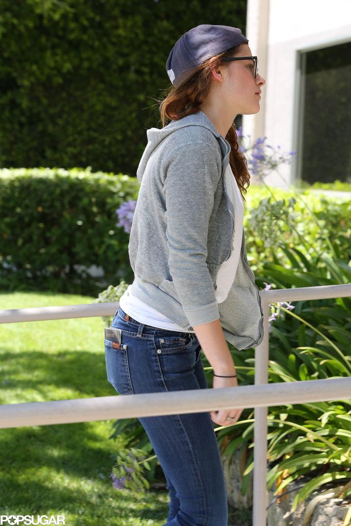 Kristen Stewart Gets Back to Work in Her Signature Style