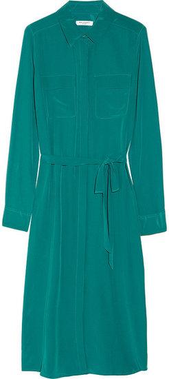 Equipment Tegan washed-silk shirt dress