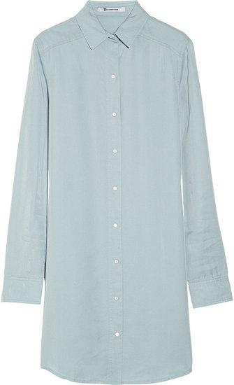 T by Alexander Wang Chambray shirt dress