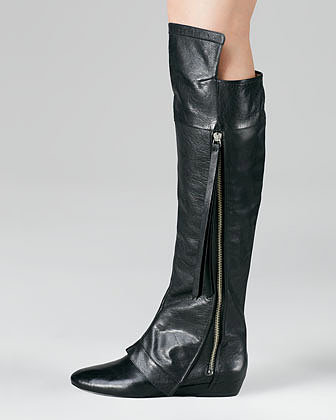 10 Crosby Derek Lam Loden Over-the-Knee Boot, Black