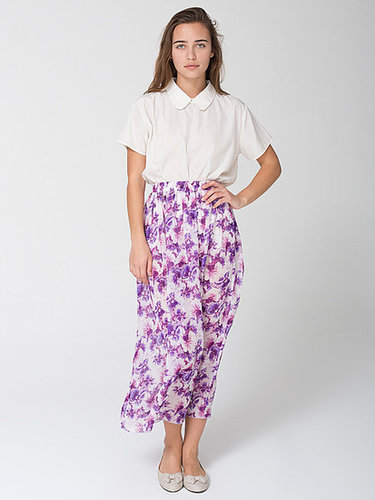 Floral Full Length Skirt