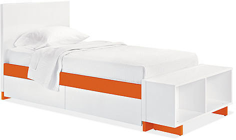 Moda Bed with Storage Options in Colors