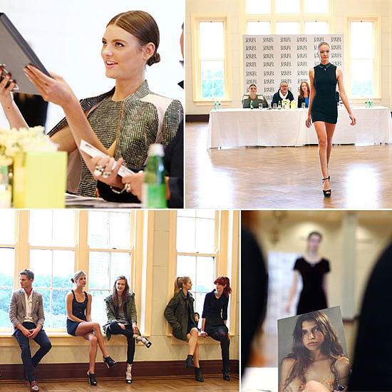 Inside the David Jones Spring Fashion Show Model Casting