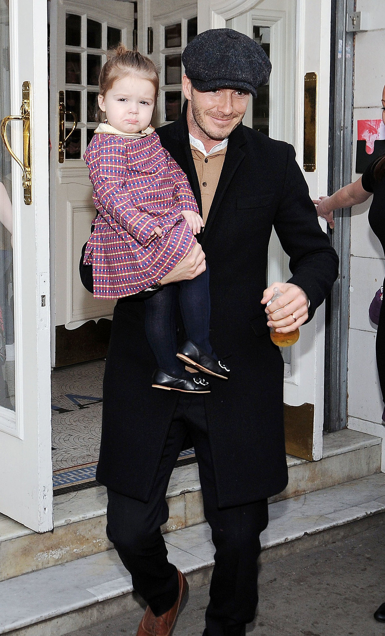 Beckham Daughter Birthday David Beckham Held Daughter