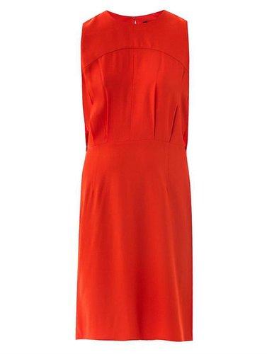 L'Agence Draped back sleeveless dress