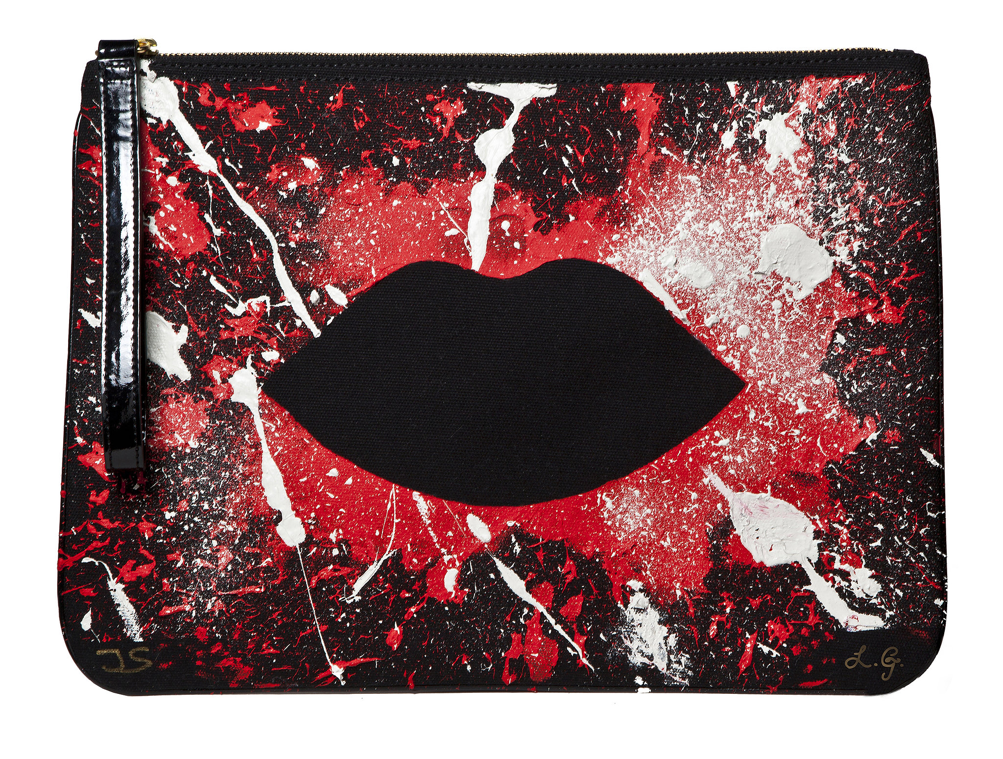 Lulu Guinness teamed with artist Joseph Steele for a painterly pick. The limited-edition clutches ($465) are available July 11. If you love the splattered style, get yours quick — only 180 (each signed and numbered) were produced.