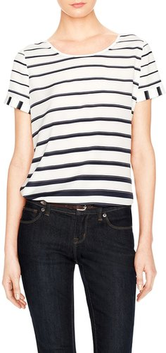 Engineered Stripe Top